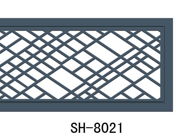 8021尚豪系列花板镂空雕刻隔断玄关过道通风口装饰雕花板空调艺术风口